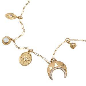 Pamela Zamore Gold charms