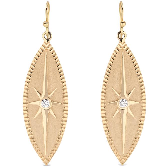 Pamela Zamore Marquise earrings