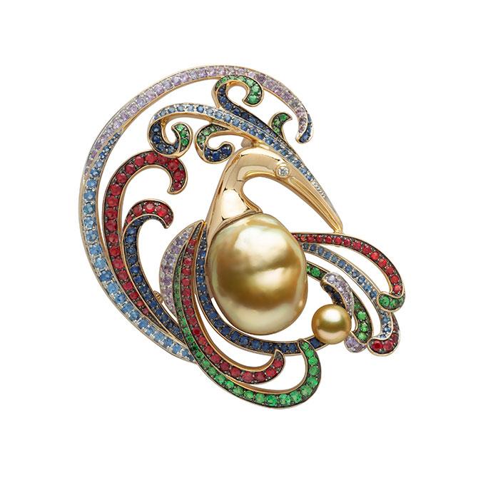 Jewelmer brooch