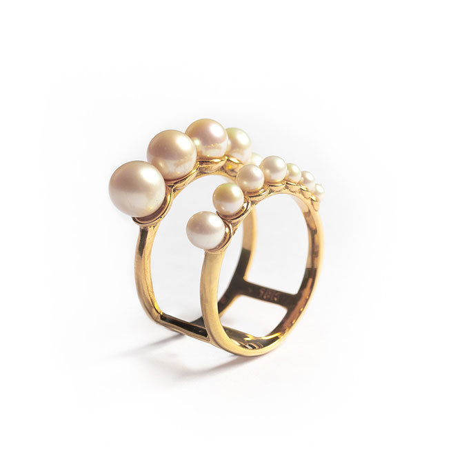 Liev Joias pearl ring
