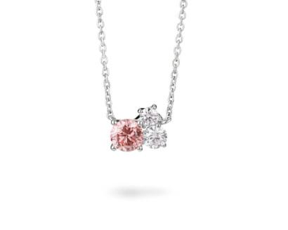 Lightbox cluster pendant pink