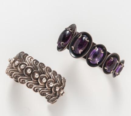 Los Castillo silver bracelets
