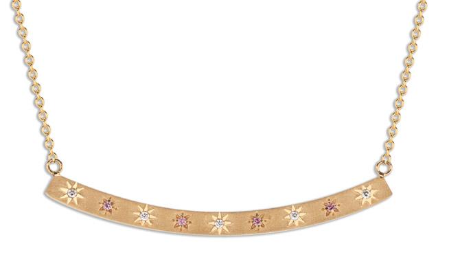 Pamela Zamore Arc Star necklace