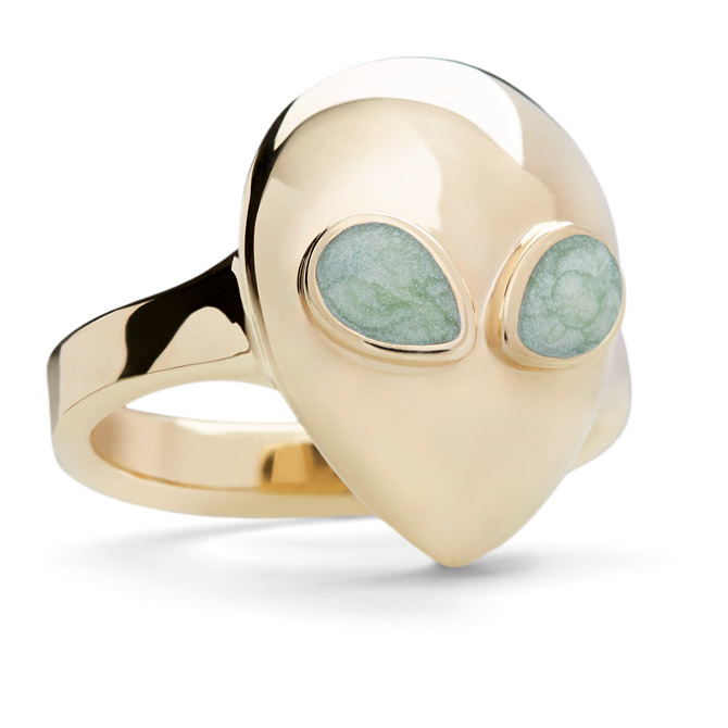 Alina Abegg Alien pinky ring