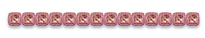 Robert Procop Legacy Brooke rose quartz bracelet