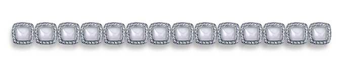 Robert Procop Legacy Brooke white jade bracelet