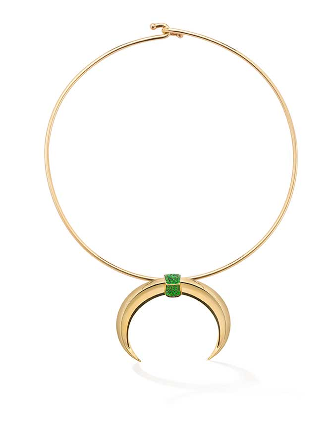 Robinson Pelham tusk necklace