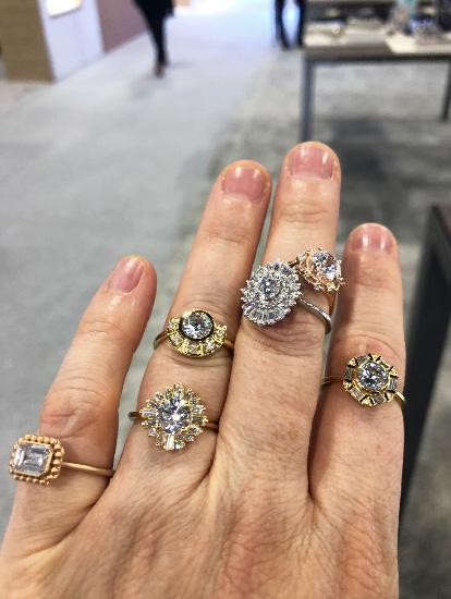 Stuller bridal rings
