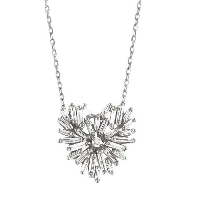 Suzanne Kalan Fireworks heart necklace