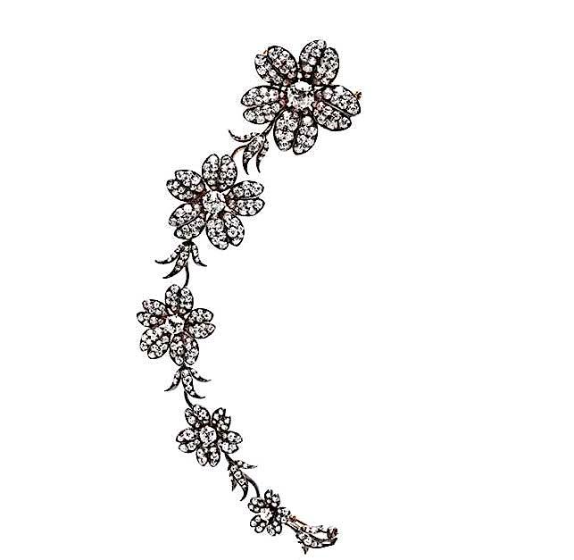 Tiffany corsage ornament