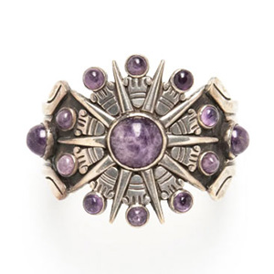 William Spratling amethyst bracelet hero