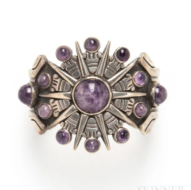 William Spratling amethyst bracelet