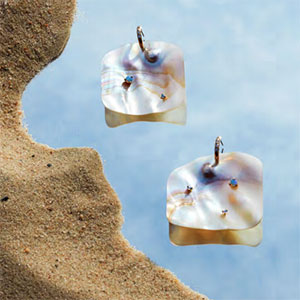 Wwake earring with studs Net Sustain