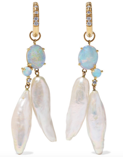 Wwake net sustain earrings 1