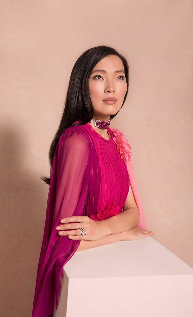 Xin Li in Christies Jewelry