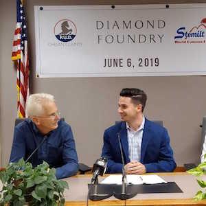 Diamond Foundry signing