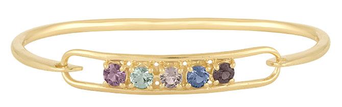 eden presley shades of lavender sapphire bracelet