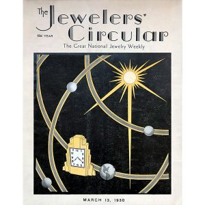 jewelers circular march 13 1930 cover