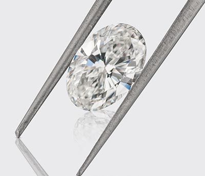 oval cut GIA diamond