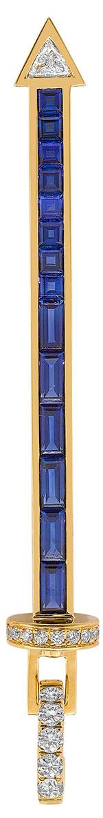 robinson pelham blue sapphire long sabre