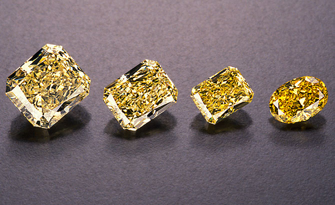 yellow diamond GIA master stones