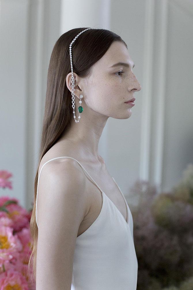 Ana Khouri Eva headpiece