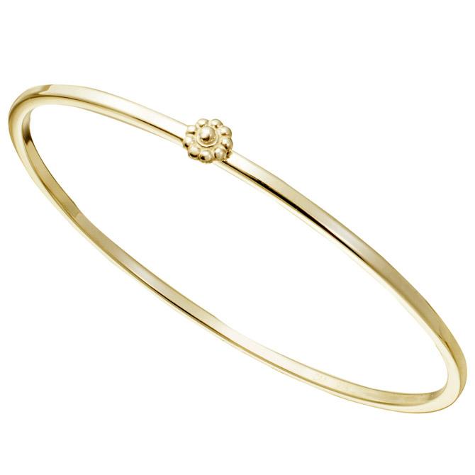 Christina Malle Rosette bangle bracelet