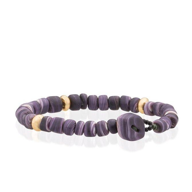 CB Stark wampum bracelet