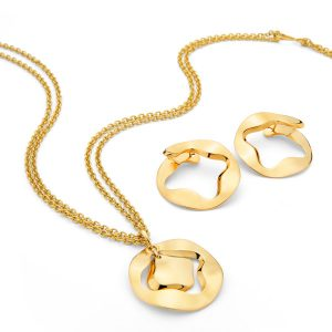 Antonini Anniversary100 pendant and earrings