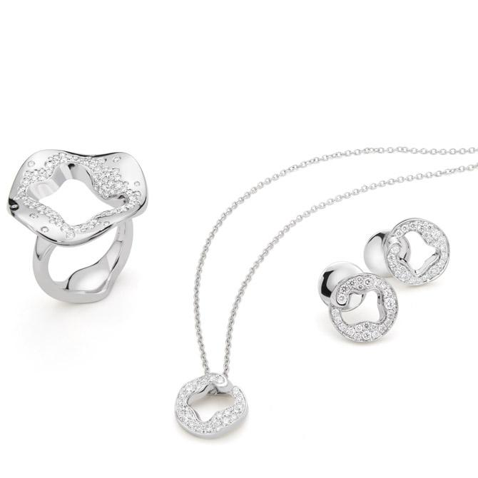 Antonini Anniversary100 white gold diamond collection