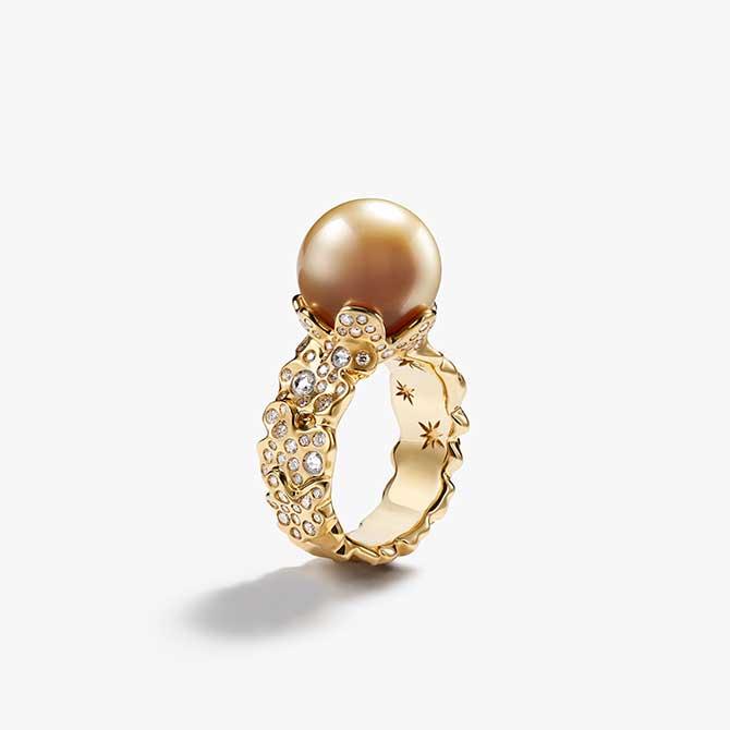 David Yurman pearl ring