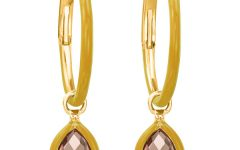 Nina Runsdorf mini enamel hoop earrings