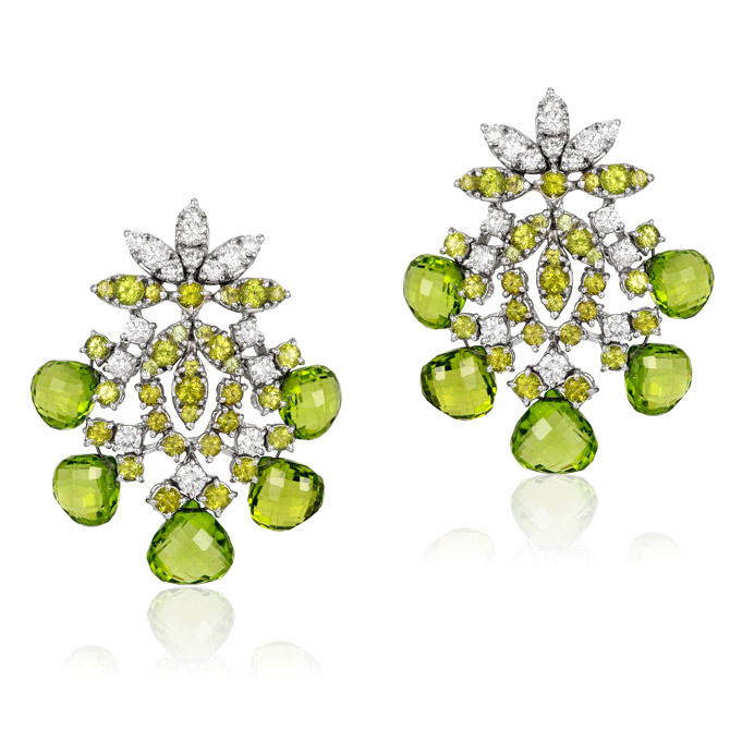 Andreoli peridot earrings