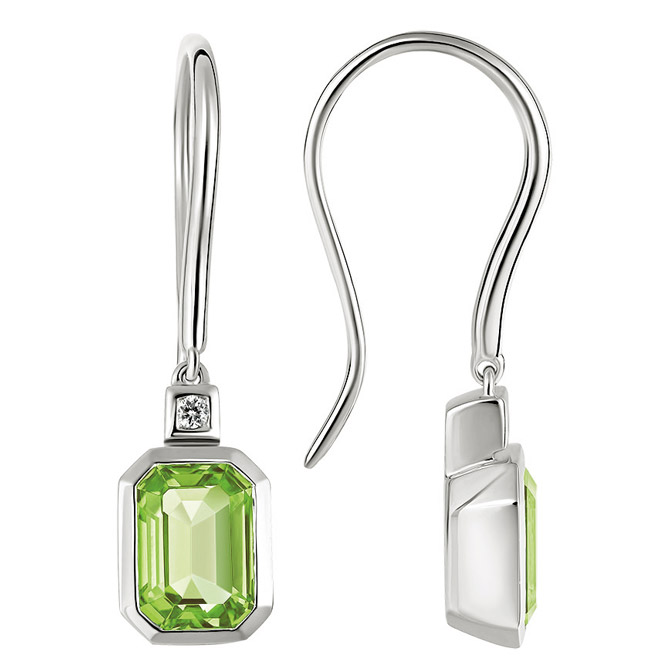 Artistry Ltd. peridot Dolce earrings