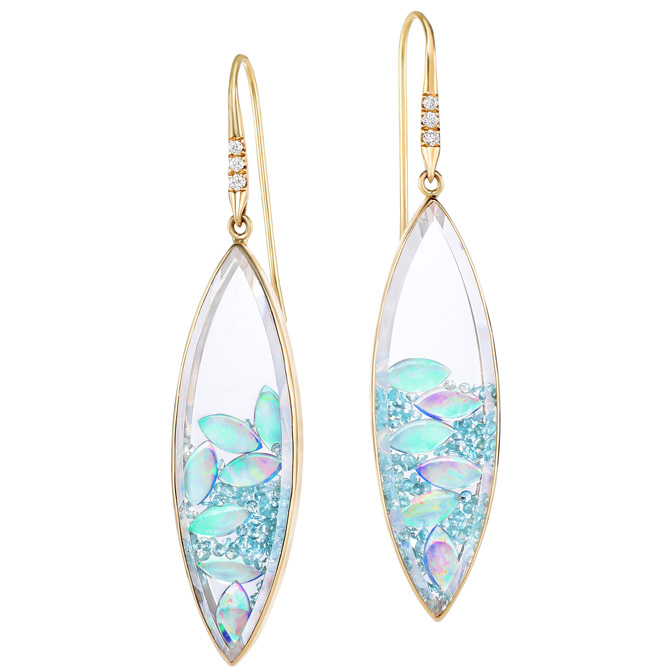 Moritz Glik paraiba Shaker earrings