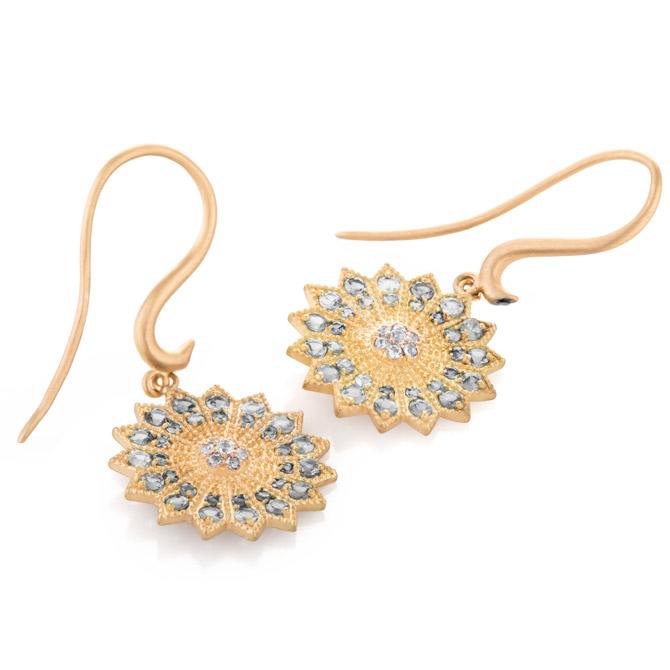 Nada G Power of Light mini earrings