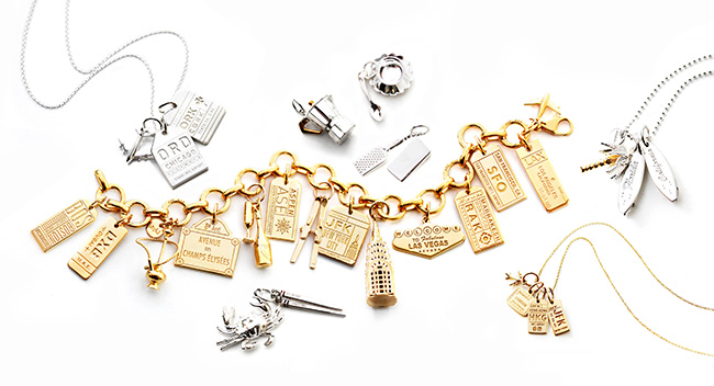 Jet Set Candy travel charms