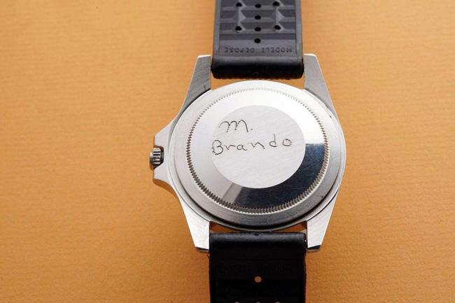 Marlon Brando Rolex back