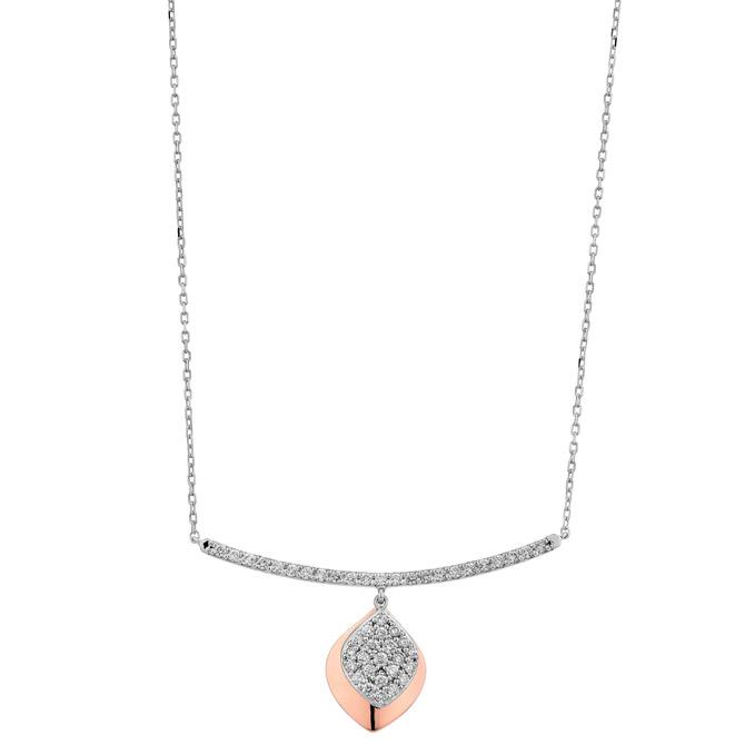 Facet Barcelona Dangle necklace
