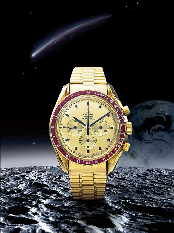 Omega Speedmaster Apollo XI watch