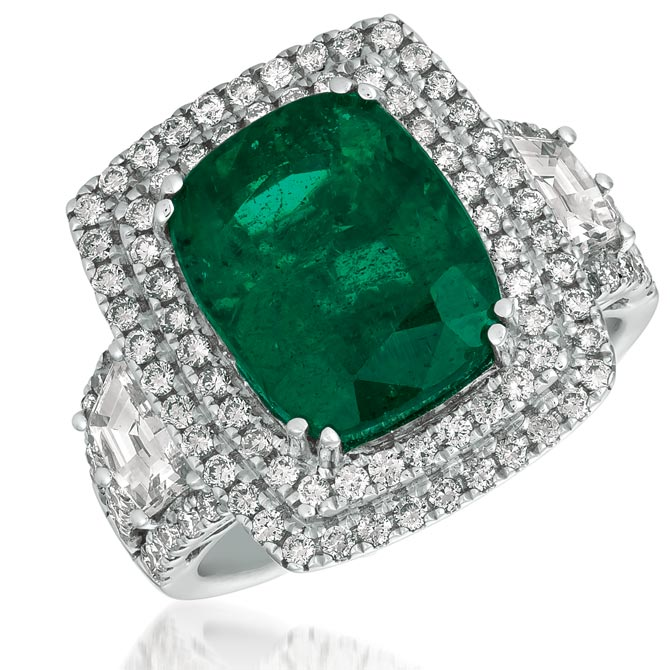 Le Vian Couture emerald ring