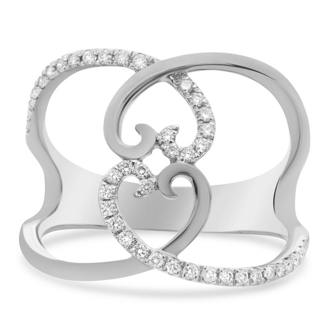 Roman and Jules heart ring