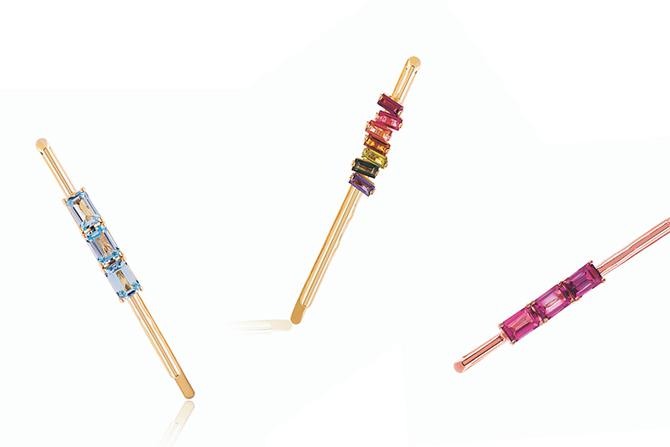 Suzanne Kalan gemstone hairpins