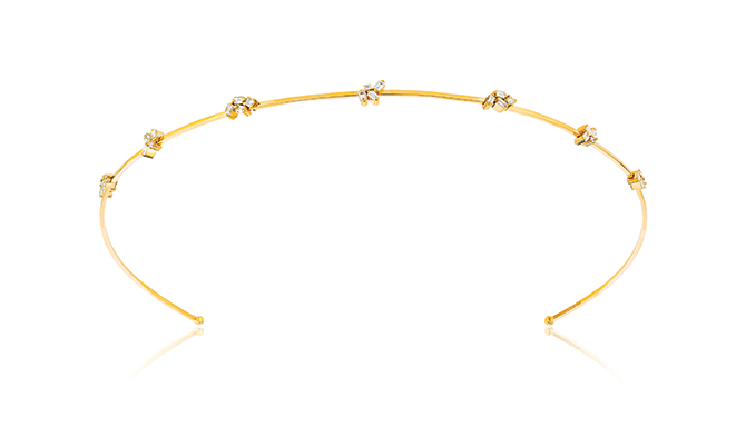 Suzanne Kalan yellow gold headband