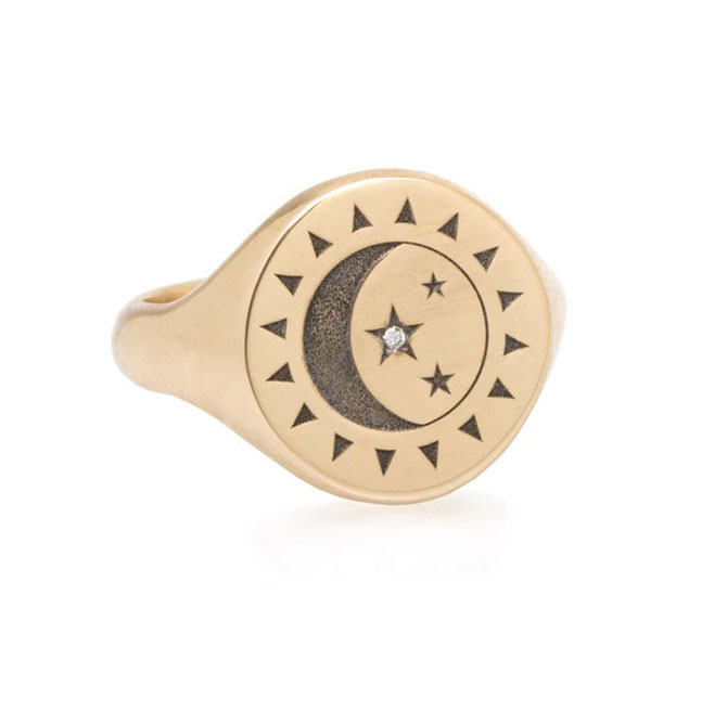 Zoe Chicco signet ring