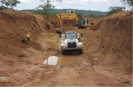 Marange diamond mining