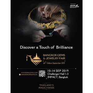 Bangkok Jewelry Show ad