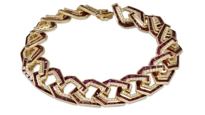 Kavant and Sharart Link No.5 bracelet