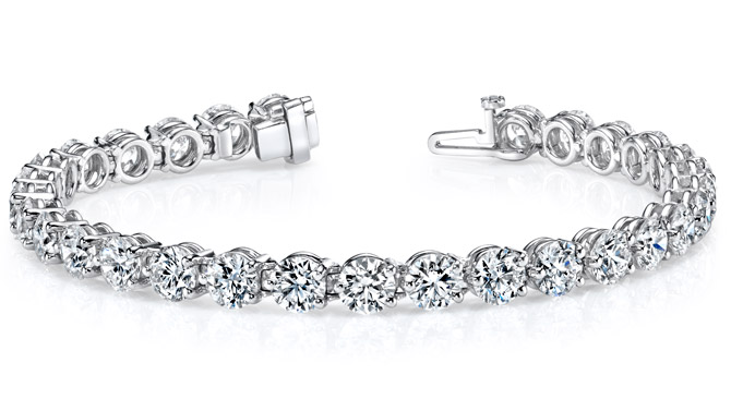 KR Diamonds tennis bracelet