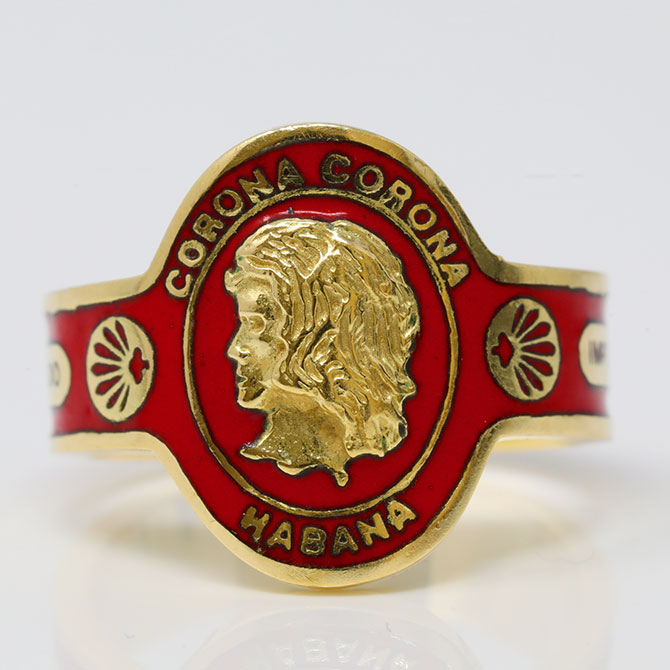 Cartier 70s cigar band ring